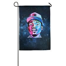 halloween house flags amazon com chance the rapper acid rap gorgeous home flag sports