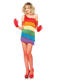 halloween costume flapper rainbow flapper costume halloween costumes