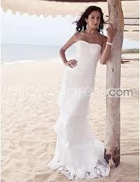 destination wedding dresses us 189 99 beautiful strapless layered lace skirt lace up back