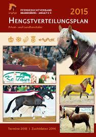 Pferdezentrum Bad Saarow Calaméo Hengstverteilungsplan 2015