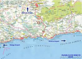 Map Of Malaga Spain by To Rent One Bedroomed House In Saleres Granada Spain