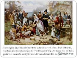 презентация на тему thanksgiving day celebration in united states