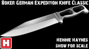 boker german expedition knife classic show for scale overview
