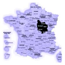 Dijon France Map by