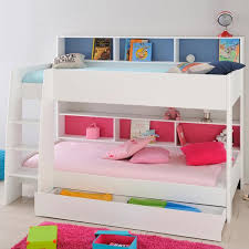 Mid Sleeper Bunk Bed Beds Cabin High Beds With Storage Drawers Underneath