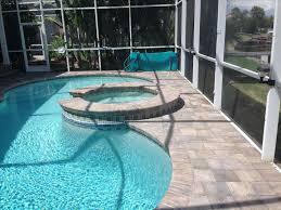Concrete Patio Vs Pavers by Paver Materials Stamped Concrete Vs Patio Paver Pool Decks