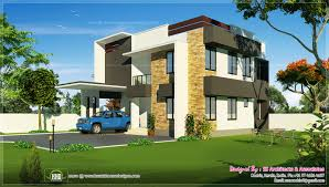 sq feet contemporary home view kerala home design floor design