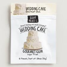 project 7 wedding cake sugar free gum world market
