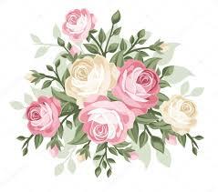 imagenes de rosas vintage ilustración vectorial de rosas vintage vector de stock naddya