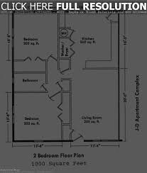 Two Bedroom Ranch House Plans Small Two Bedroom House Plans 1560 Sq Ft Ranch Plan With Under