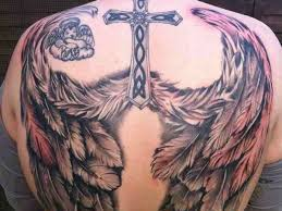 3d wings pair tattoos on back photo 3 photo pictures