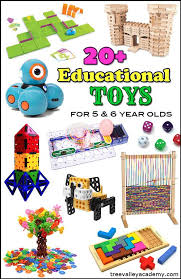 educational toys for 6 year olds kindergarten students and