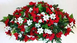Cemetery Christmas Decorations Christmas Flower Arrangements For Cemeteries And Graves