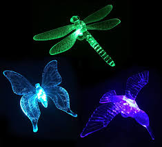 Dragonfly String Lights by Amazon Com Kitclan Solar Powered Led Stake Lights Hummingbird