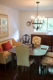 modern and traditional mix in dining room makeover