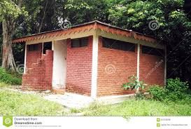 Small House Construction small house with red brick in construction stock photo image