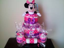minnie mouse diaper cake diaper cake minnie mouse baby shower