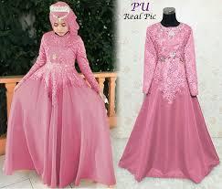Baju Muslim Brokat beragam model baju muslim brokat terbaru ltd min