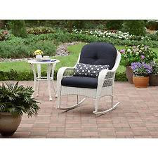 chicago wicker 33310070171w013 chesapeake rocker with cushion ebay