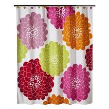 Pink Flower Shower Curtain Stella Floral Shower Curtain Pink 70x71