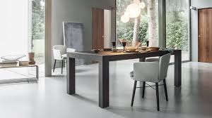 a table characterised by rigorous and elegant lines dueci by