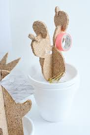 Cactus Planter by Diy Cactus Planter Canister Dish Cork Board Stylishly Tidy Life