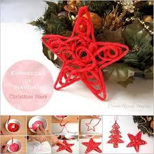 wonderful diy yarn ornaments for