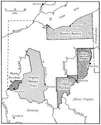 Map Of Ohio State by 2 History And Geography Of Ohio Settlement A Brief Overview