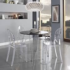 Clear Dining Room Table Acrylic Ghost Chair Back To Acrylic Ghost Chair Ikea Ideas