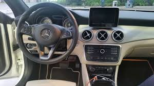 mercedes dashboard 2017 2016 mercedes benz cla250 rental review u2013 u0027authentic u0027