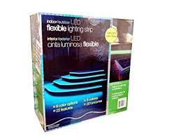dsi indoor outdoor led flexible lighting strip indoor outdoor led 8 color flexible lighting strip amazon com