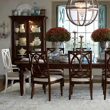 kitchen table bassett 4469 dining table with bench large dining