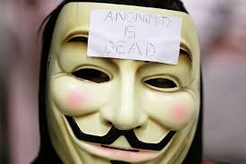 Anonymous Flag Anonymous Hacker Drapes A Rainbow Flag On Pro Isis Twitter