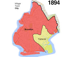 New York State Map With Cities And Towns by Brooklyn U0027s Evolution From Small Town To Big City To Borough