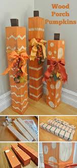 stylish diy pumpkin crafts for thanksgiving decoration diy