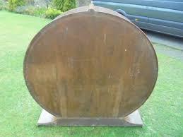 Art Deco Round Display Cabinet Art Deco Figured Walnut Round Display Cabinet 400093