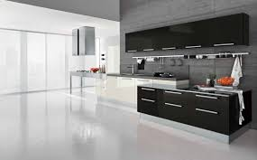 black and white kitchen backsplash ideas white oversized arc lamp