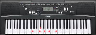 yamaha ez 220 portable keyboard with 61 full size lighted touch