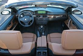 bmw inside view 2007 bmw 335i convertible review video enhanced
