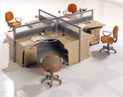 office u0026 workspace cool office workstation with u shape desk