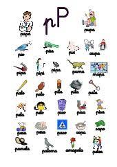 imagenes en ingles con la letra p p