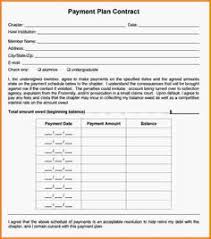 installment plan agreement template payment agreement contract usl by keboto on creativemarket