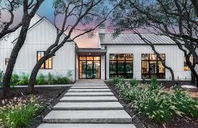 modern custom homes modern farmhouse austin custom home arbogast custom homes