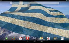 Greek Flag Background 3d Greece Flag Live Wallpaper Android Apps On Google Play