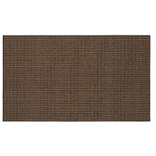 Mohawkhome Shop Mohawk Home Brown Rectangular Indoor Tufted Throw Rug Common