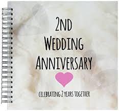 second year wedding anniversary 3drose db 154429 2 2nd wedding anniversary gift cotton