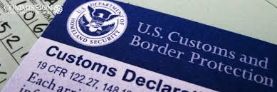 for us customs