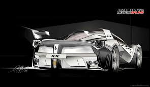 ferrari laferrari sketch ferrari u0027s new laferrari xx track monster visualized