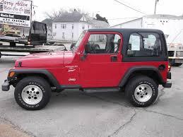 jeep wrangler open top larry allen motor car company inc