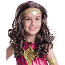 wigs for kids halloween wonder woman costumes for halloween buycostumes com